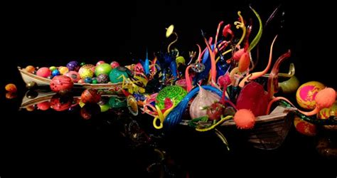 Chihuly Glass and Garden, Seattle, Washington - Adele M