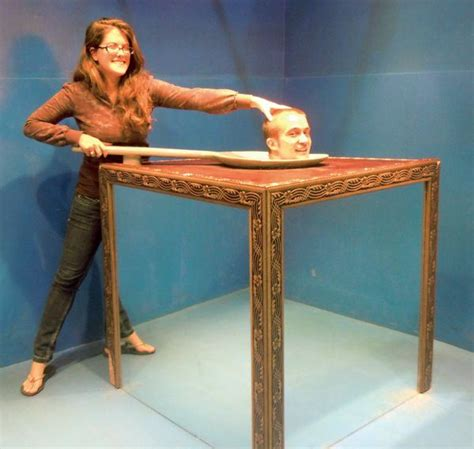 Interactive Optical Illusions at the Trick Art Museum
