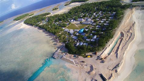 NEW SEAWALL FOR TUVALU — Coconet