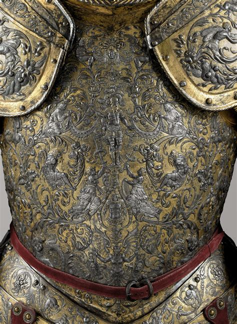 Armor of Henry II, King of France (reigned 1547–59)   Jean