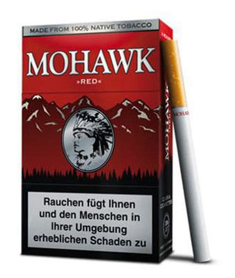 Mohawk Red (Zigaretten) - Tabak and more