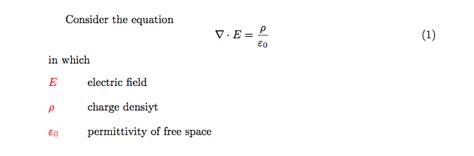 glossaries - List of symbols after equation - TeX - LaTeX