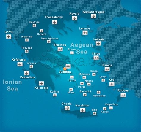 Airports in Greece and the islands - Greeka