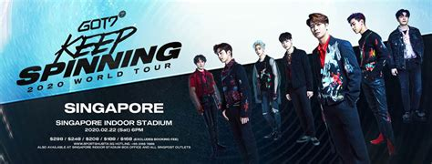 GOT7 Spins Their Way To Singapore With Exciting Concert In