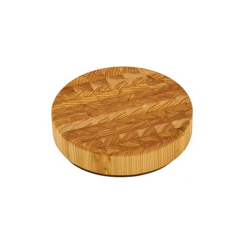 Larch wood professional chef's round boards - Terrestra