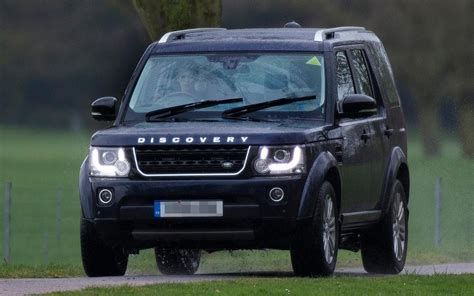 Queen's 10-year-old grandson seen driving family Land
