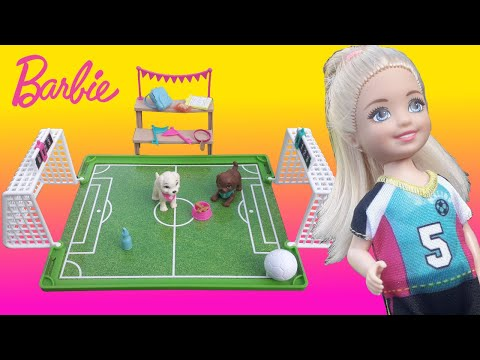 Barbie FPF83 Family Chelsea Treehouse Playset Portable