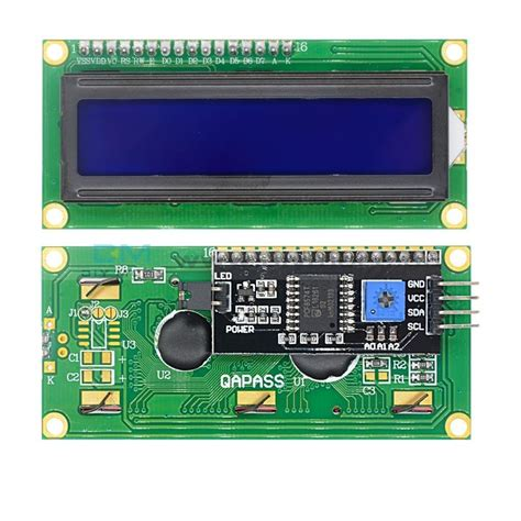 Using a 16x2 I2C LCD display with ESP32 - Electronics-Lab
