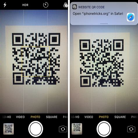 Camera App Enhanced With QR Code Scanning Feature In iOS 11
