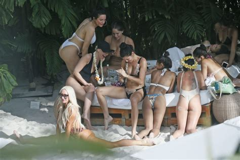 Shanina Shaik: Sexy Bachelorette Party   The Fappening