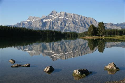 Two Jack Lake - Picture of Banff National Park, Canadian
