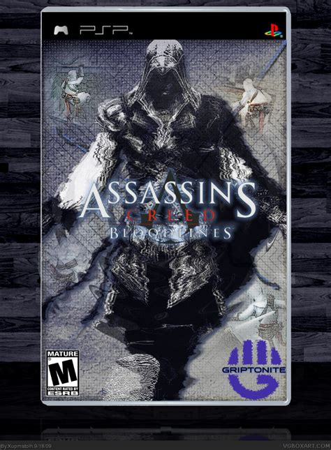 Assassins Creed; Bloodlines PSP Box Art Cover by Xupmatoih
