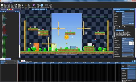 Main Canvas Area | Booty5 free HTML5 Game Maker and Game