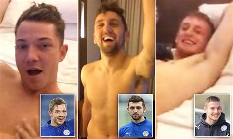 Leicester City stars filmed themselves in orgy racially