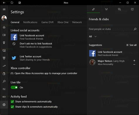 Disable Game Bar and Game DVR in Windows 10 - Winaero