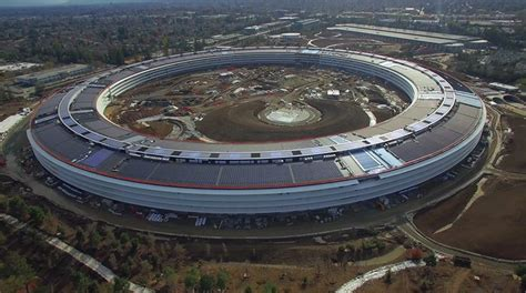 drone videos show apple's campus 2 nearing completion