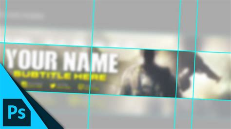 YouTube Banner Layout Guide (Template Download