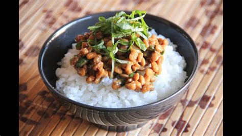 How to eat Natto - Japanese Cooking 101 - YouTube