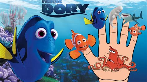 Finding Dory and Nemo Finger Family | Nursery Rhymes song