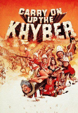 CARRY ON UP THE KHYBER REPRODUCTION FILM PHOTO POSTER