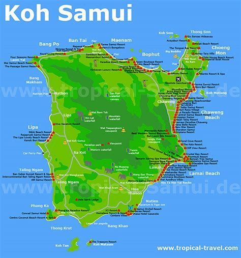 Koh Samui | Thailand | getting there | hotel booking