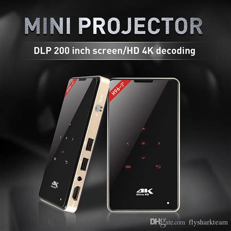 2019 Led Projector Tablet Android 6