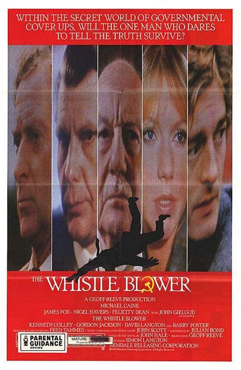 The Whistle Blower Movie Poster - IMP Awards
